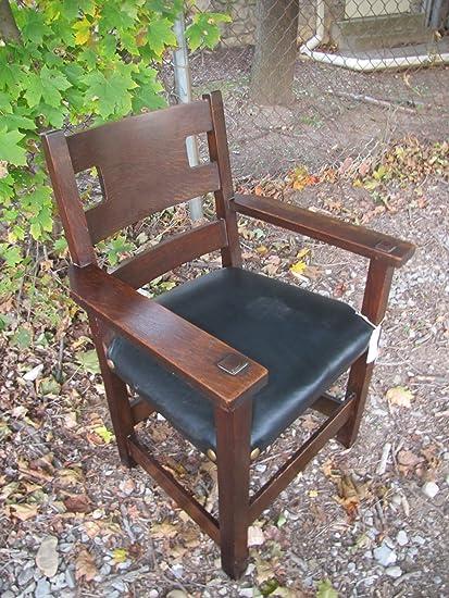 SUPERB RARE Antique Charles Limber Armchair with Cutouts w4407 - Amazon.com - SUPERB RARE Antique Charles Limber Armchair With