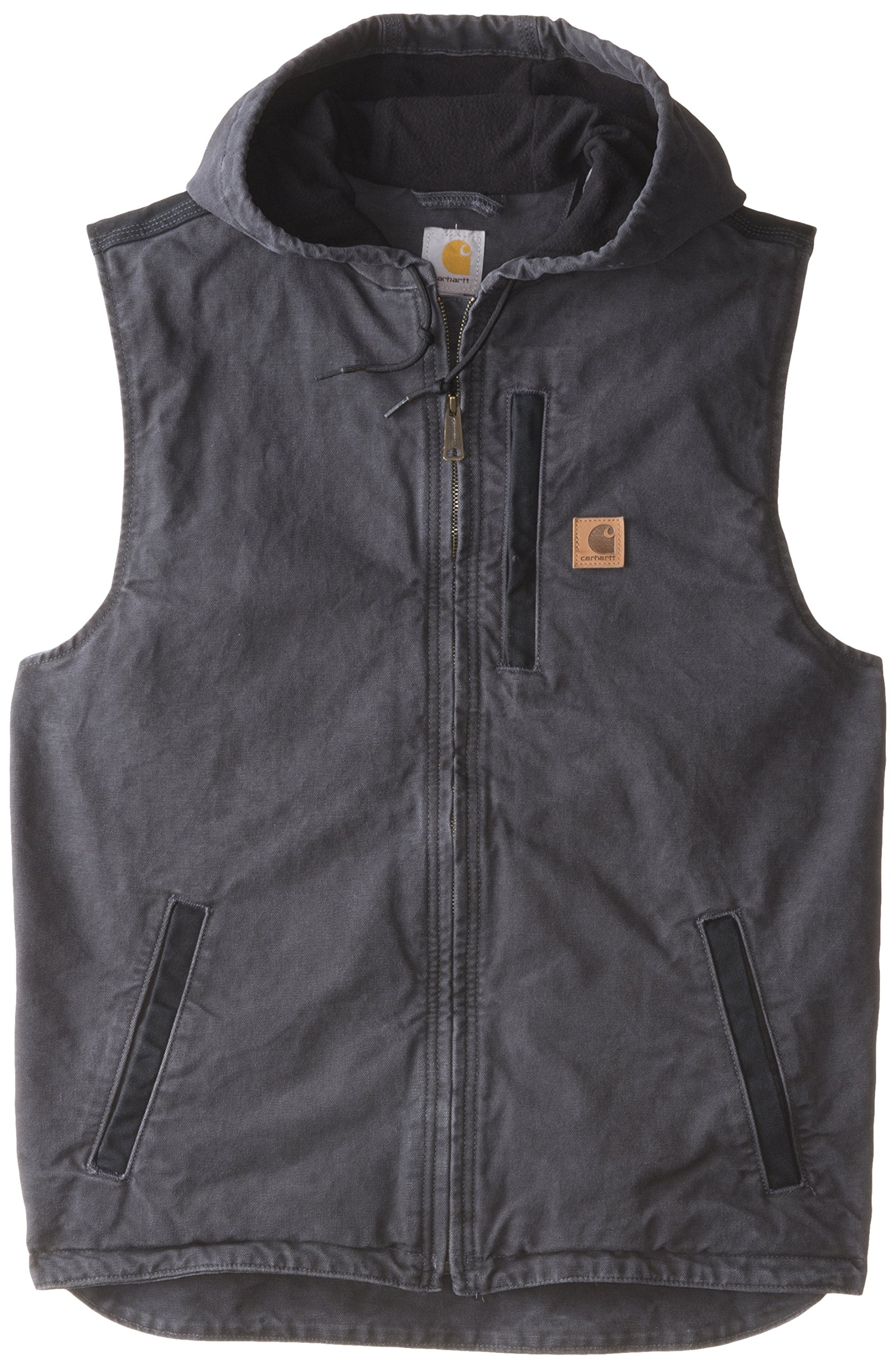 Carhartt Men's Big & Tall Knoxville Vest,Shadow,X-Large Tall by Carhartt