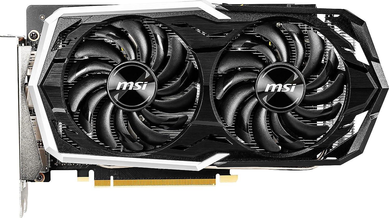 GTX 1660 TI Armor 6G OC MSI Gaming GeForce GTX 1660 Ti 192-bit HDMI//DP 6GB GDRR6 HDCP Support DirectX 12 Dual Fan VR Ready OC Graphics Card Renewed