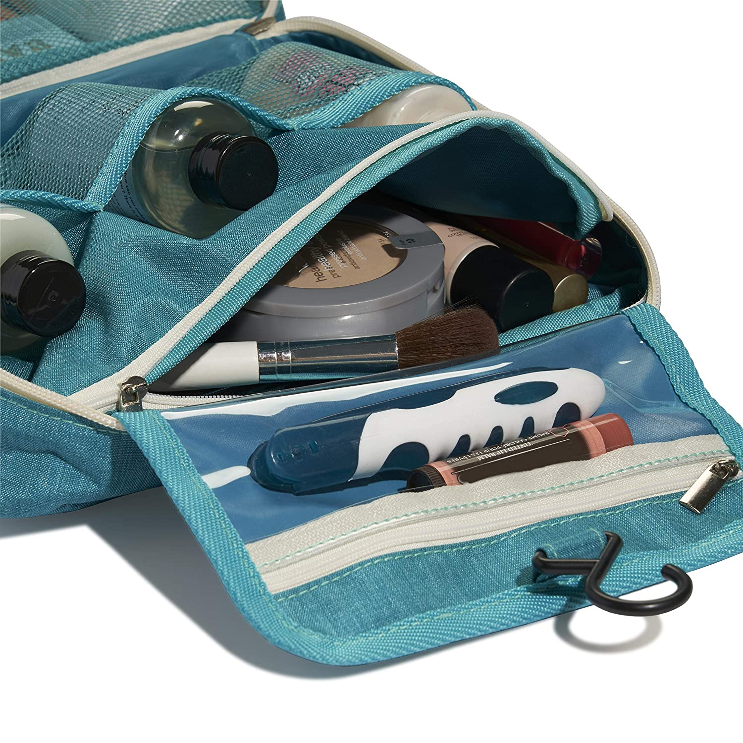 17aa345f4a73 Hanging Toiletry Bags by CISABee - Toiletry Bag | Toiletries Carrier for  Bathroom and Shower | Women or...