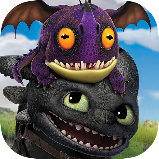 School of Dragons: How to Train Your Dragon (Dragon Games For Kids)
