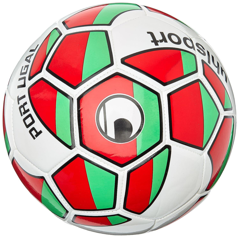 Uhlsport Pelotas Naciones Ball Portugal, Color Blanco/Verde/Rojo ...