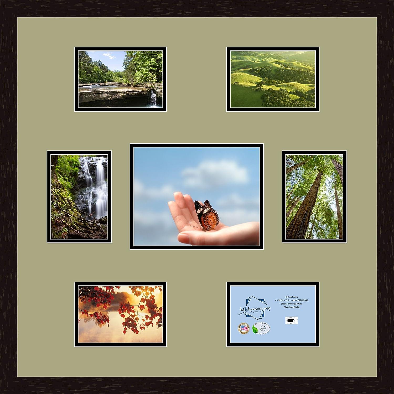 Bonito 5 5x7 Los Marcos Del Collage Embellecimiento - Ideas ...