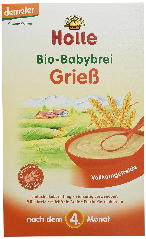 Holle Bio Babybrei, Grieß , 250 g 335800
