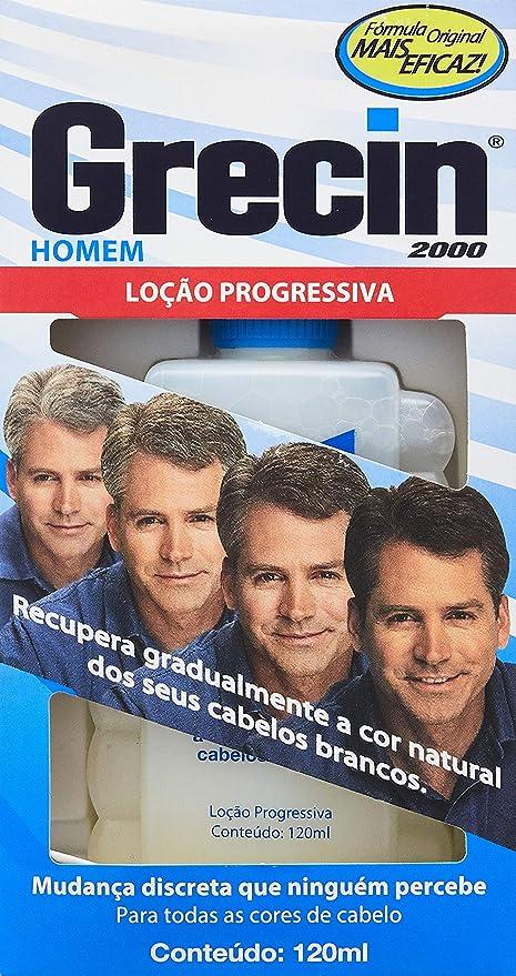 Loção Progressiva 2000 Homem 120ml, Grecin: Amazon.com.br: Saúde ...