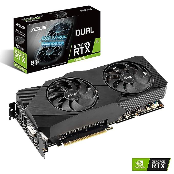 Amazon.com: ASUS GeForce RTX 2060 Super 8G EVO GDDR6 Dual ...