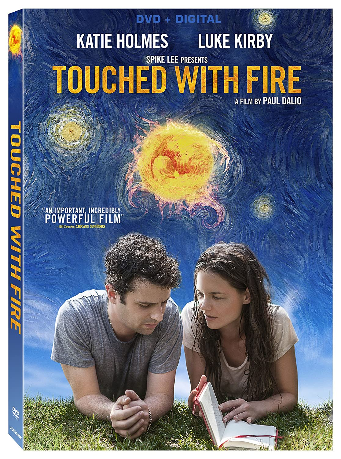 Amazon.com: Touched With Fire [DVD + Digital]: Katie Holmes, Luke ...