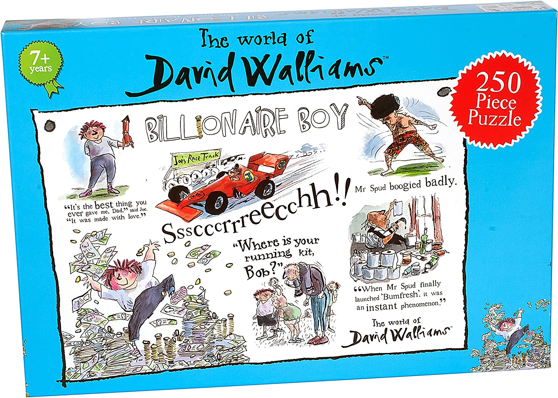 Nouveau Paul Lamond 6825 David Walliams Billionaire Boy Puzzle
