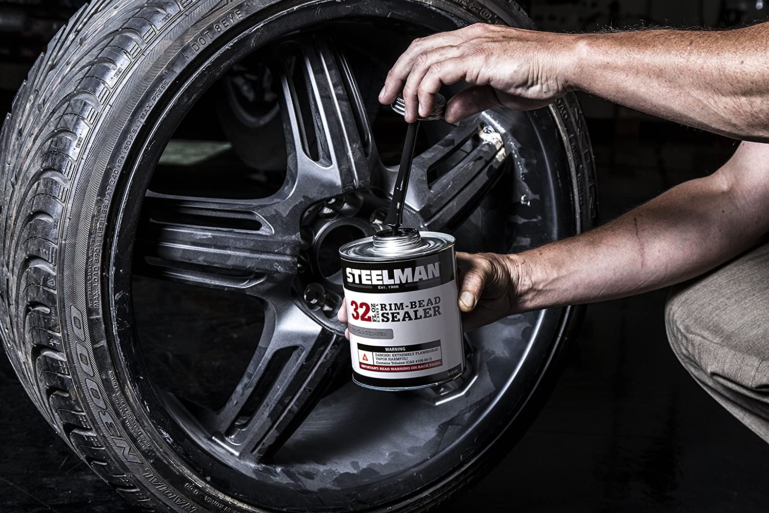 3 x Patch Rubber Tyre Bead Sealer Seal Leaks Between Tyre And Rim