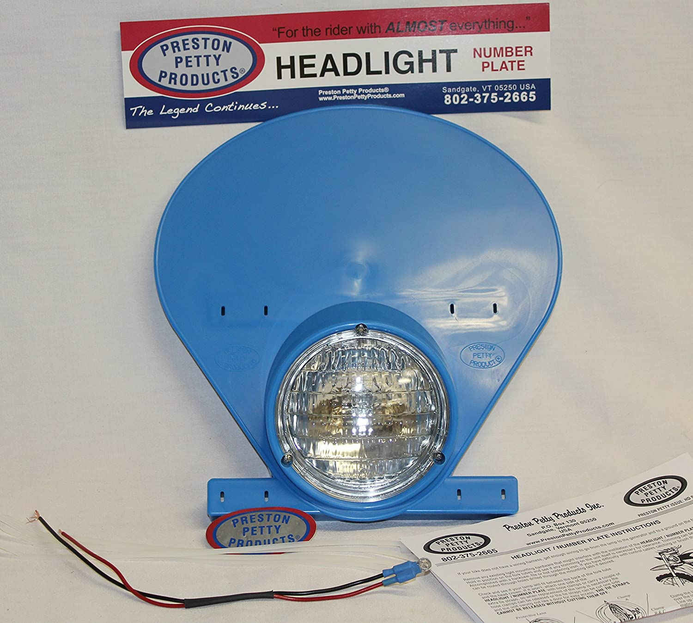 Amazon.com: Authentic Preston Petty Headlight Number Plate and Bulb ...