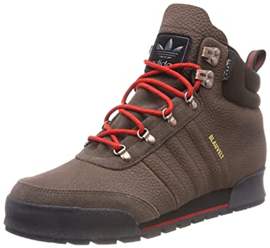 buy popular 48d66 ca540 adidas Men s Jake Boot 2.0 Skateboarding Shoes, Brown-(Marron Escarl Negbas