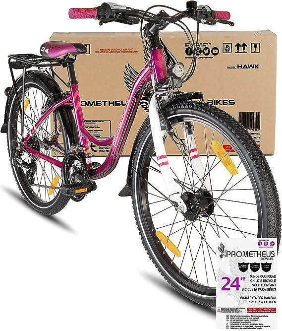 Prometheus Bicicleta Infantil 24 Pulgadas   niño   niña   Bici de ...