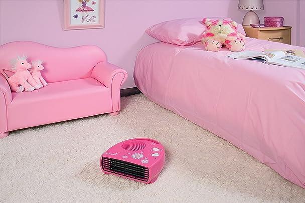 Amazon.com: Dimplex Daisy 2kW Pink Flat Fan Heater (4152222 ...