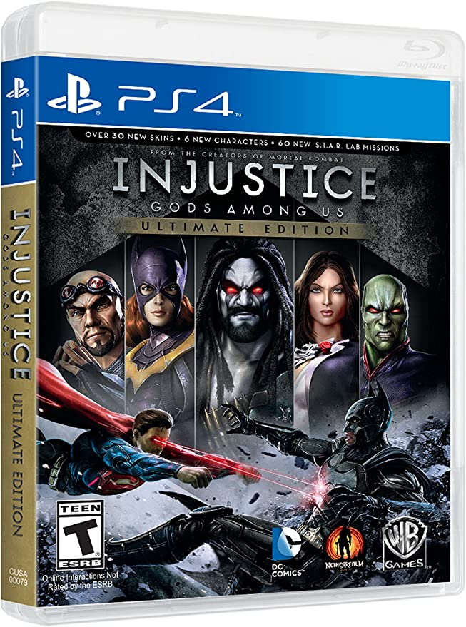 Injustice: Gods Among Us - Ultimate Edition [Importación USA ...
