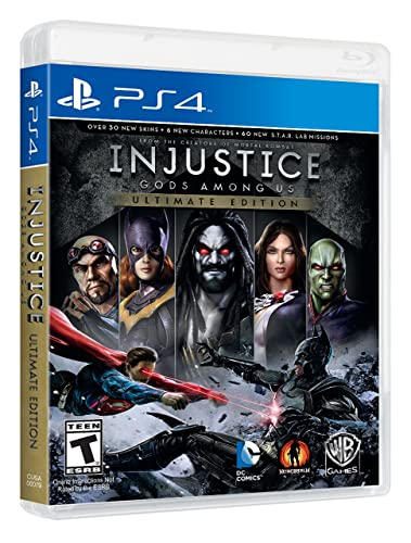 Amazon Com Injustice Gods Among Us Ultimate Edition Whv Games Video Games