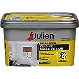 Sous-couche JULIEN pour cuisine et salle de bain - Blanc  Mat 2,5L