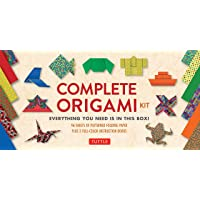 The Complete Origami Kit: Everything You Need Is in This Box! [Origami Kit with 2 Books, 96 Papers, 30 Projects]