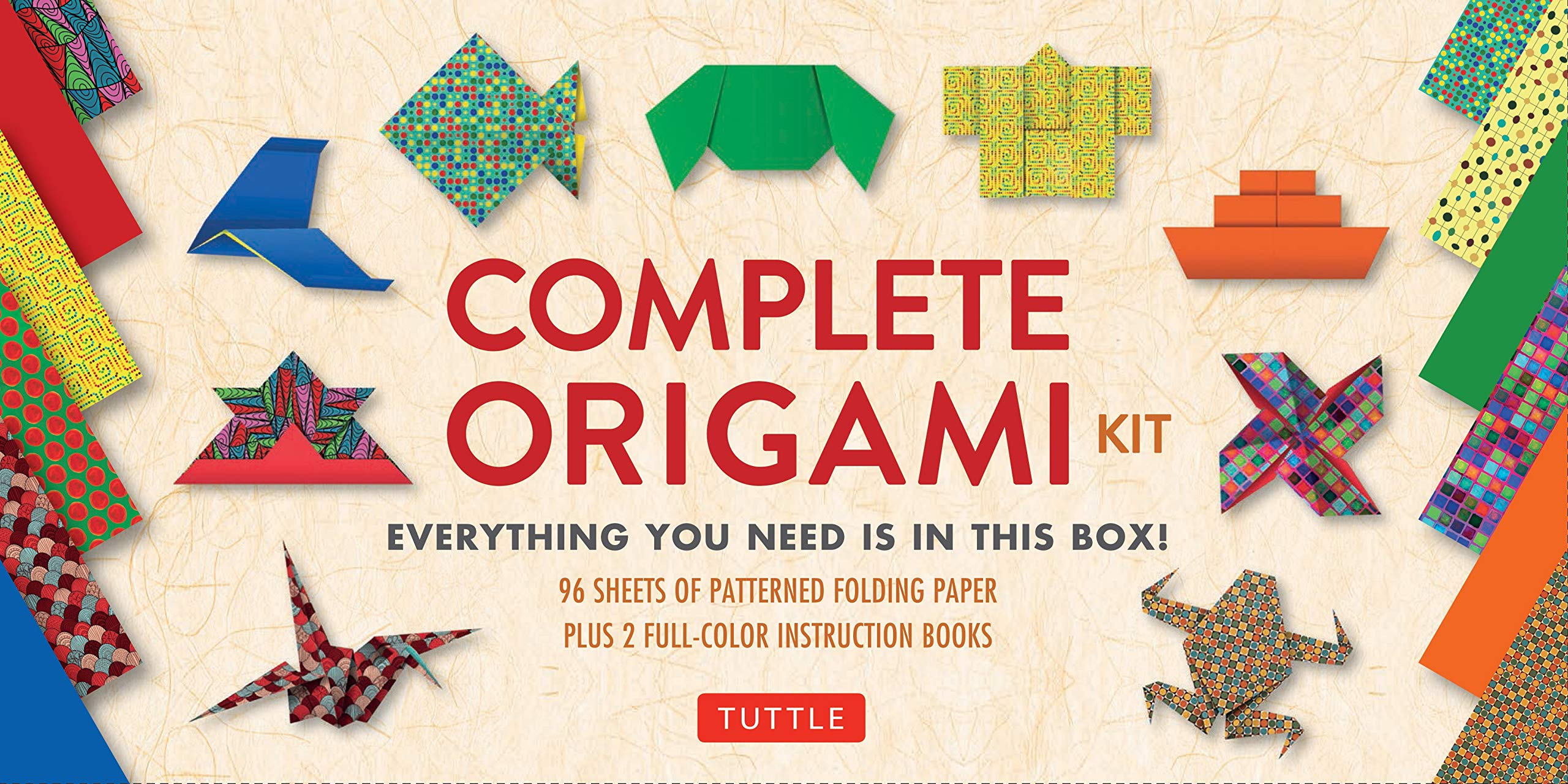 Amazon.com: Complete Origami Kit: [Kit with 2 Origami How-to ...