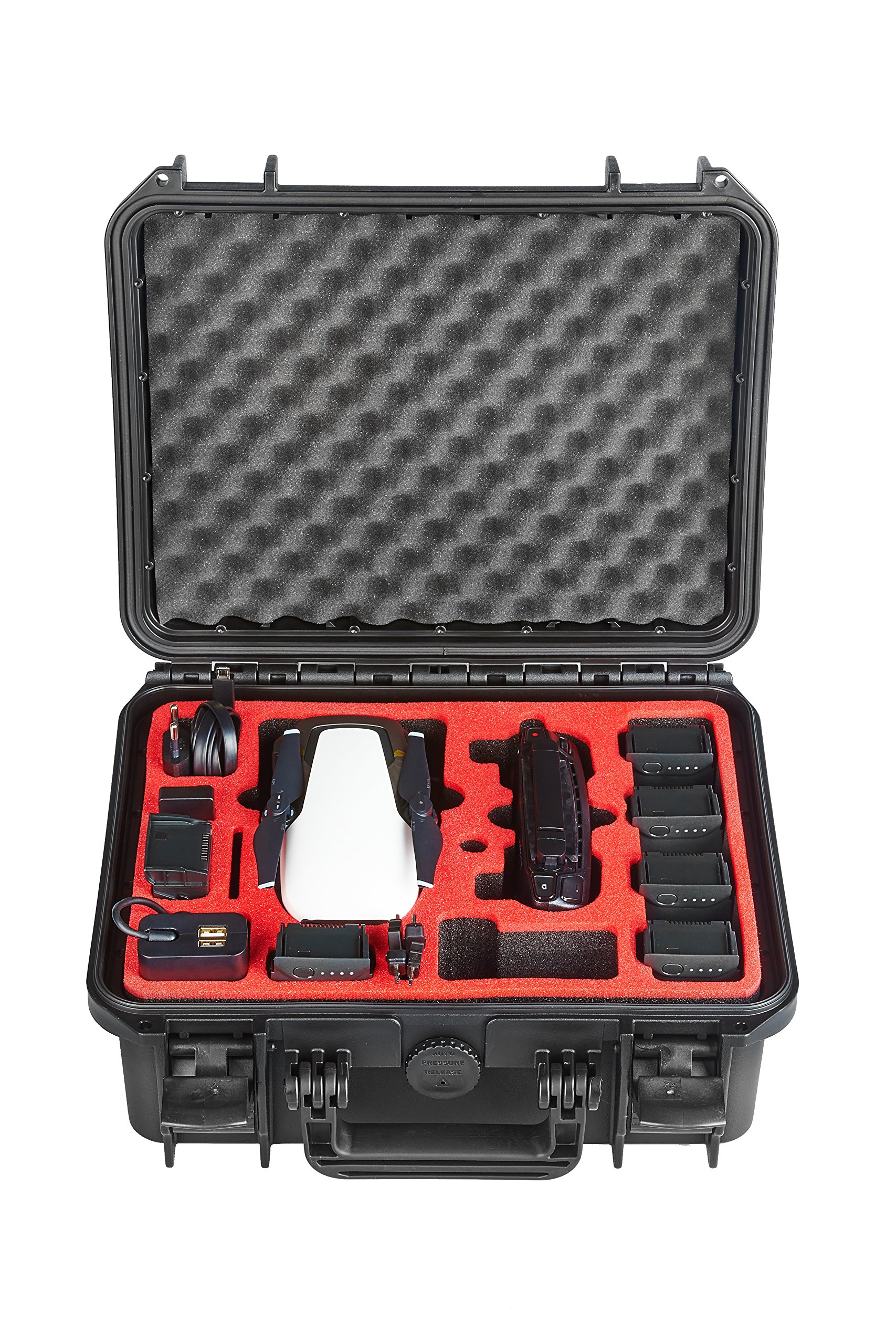 Professional Carry Case for DJI Mavic AIR - Made in Germany - by MC-CASES (Explorer Edition for DJI Mavic Air) by mc-cases (Image #1)