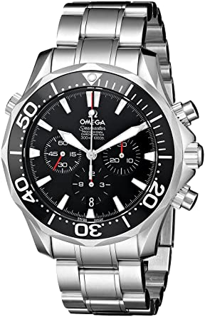 f8d356fa8e0f Image Unavailable. Image not available for. Color  Omega Men s 2594.52.00 Seamaster  300M Chrono Diver Watch