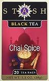 Stash Tea Black Tea Assortment, 6-Count