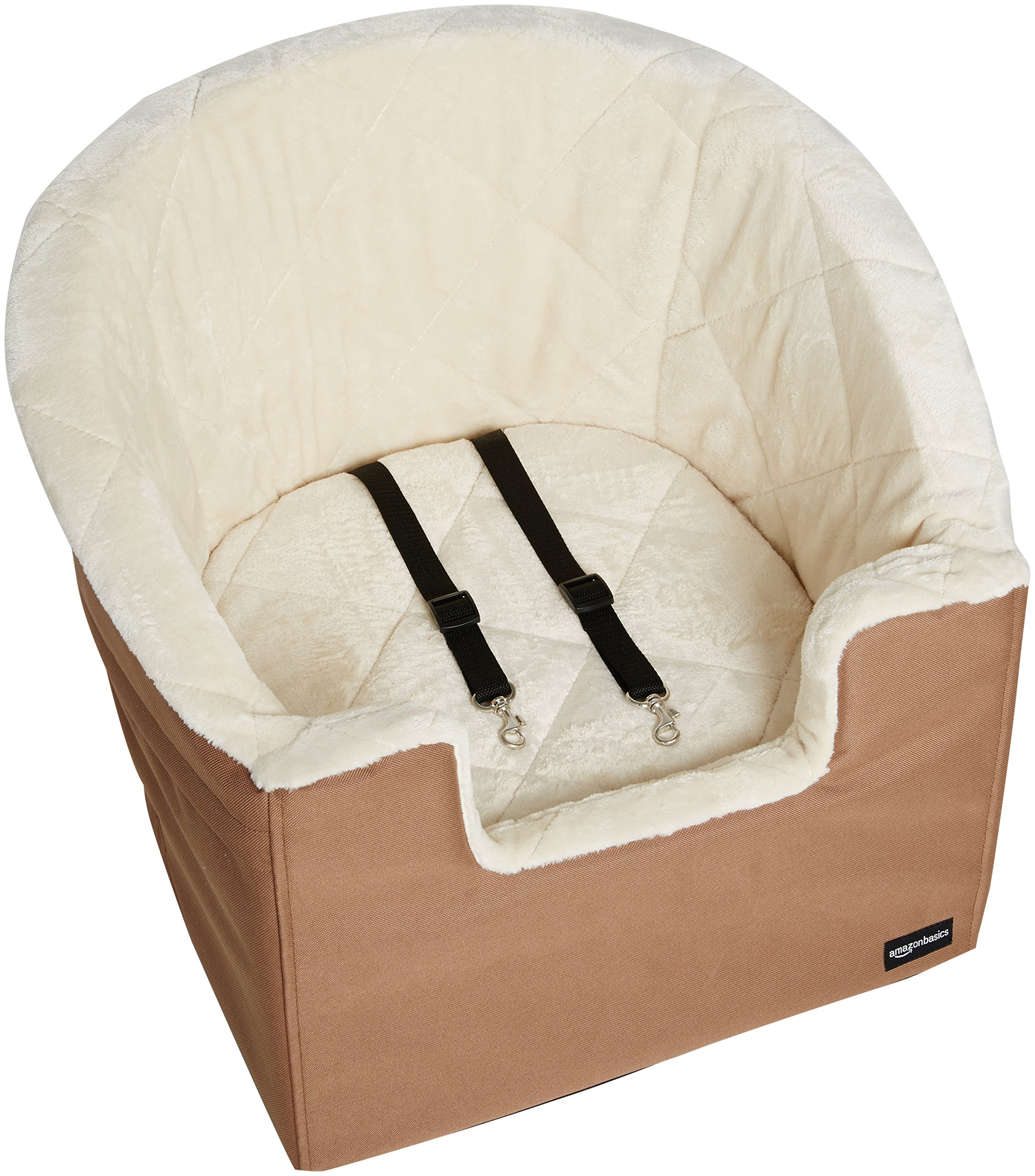 AmazonBasics Pet Car Booster Bucket Seat - 18 x 18 x 16 Inches by AmazonBasics