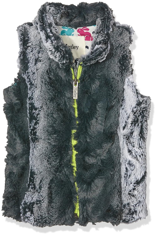 Hatley Mädchen Weste Ski Bunny Faux Fur Vest