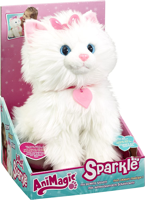 Animagic Sparkle My Glowing Kitty Amazon Co Uk Toys Games