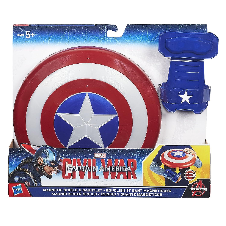 Amazon.com: Hasbro Avengers B5782EU4 - Captain America magnetisches Schild, Spielzeug Schild: Toys & Games