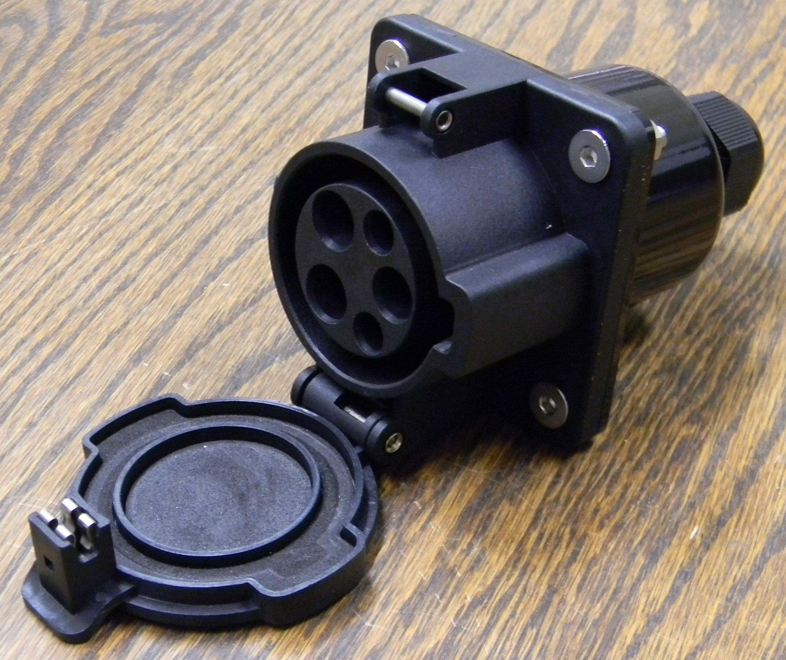 J1772 Socket-Inlet Level 2 50/70A 120/240V - USA Stock! - New!