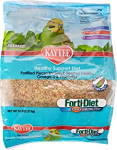 KAYTEE Products 715244 forti-Diet 6-Pack Pro Health for Parakeet, 5-Pound