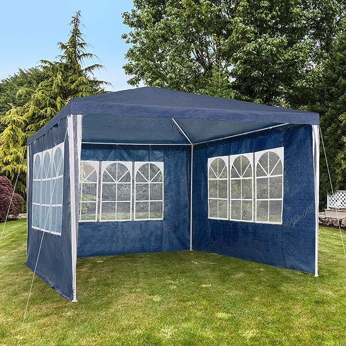 Vert ISE 3x6 Tonnelle Tente Gazebo Pavillon de Jardin d/év/énement pour F/ête,Camping,Festival,Bi/ère