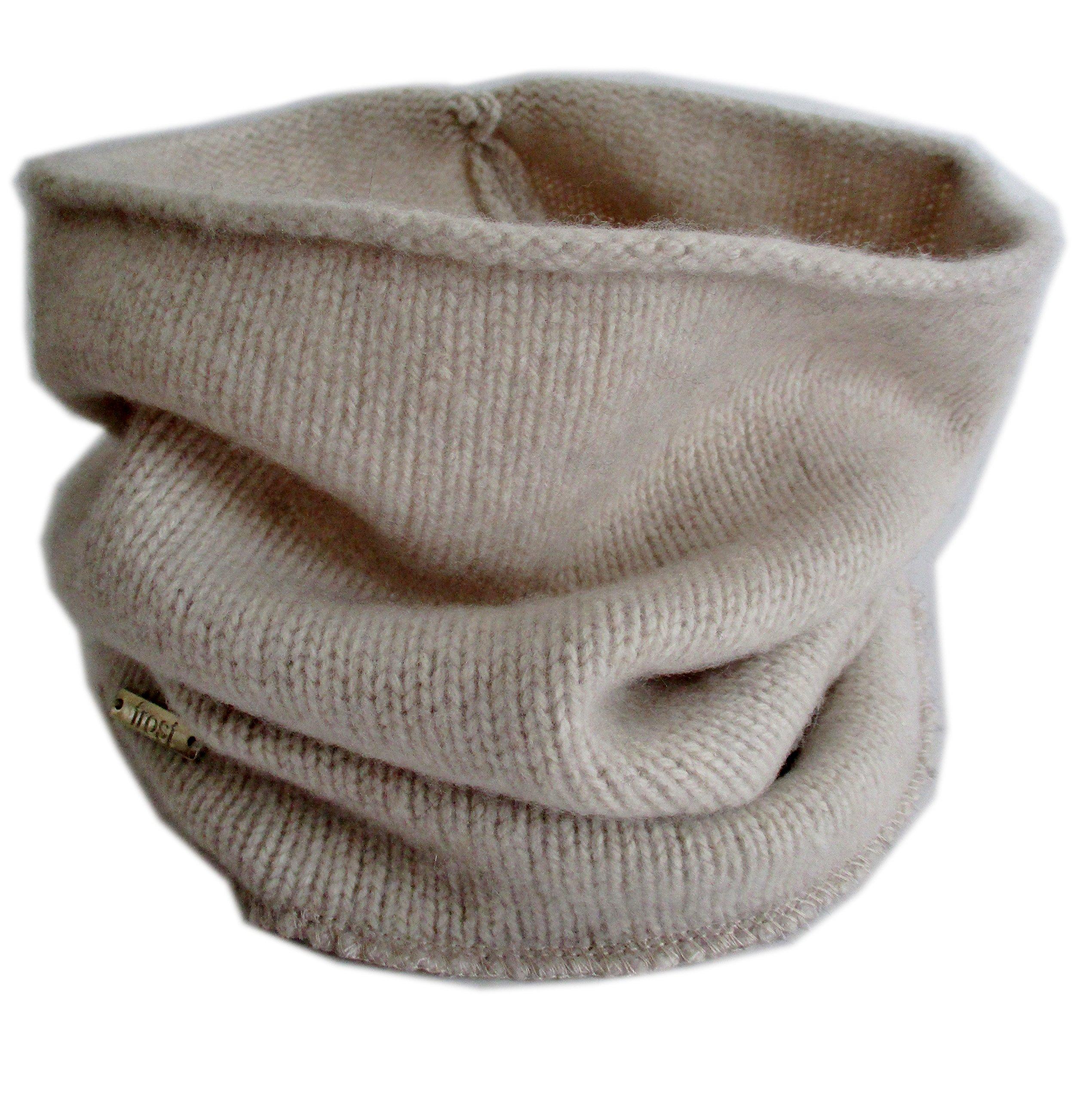 Frost Hats Cashmere Neck Warmer CSH-891 Beige