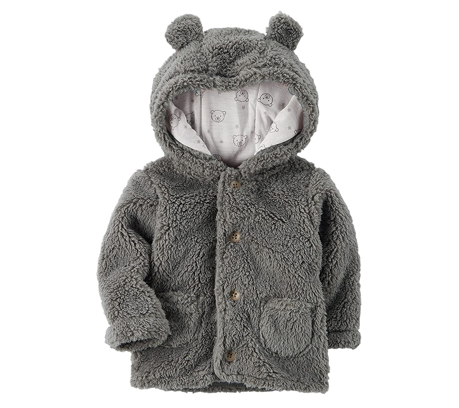 Carter's Baby 3M-24M Hooded Sherpa Jacket