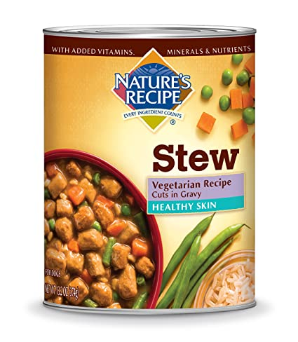 Natures recipe healthy skin wet dog food cans vegetarian recipe natures recipe healthy skin wet dog food cans vegetarian recipe cuts in gravy forumfinder Images
