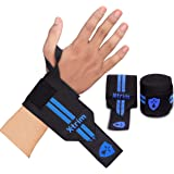 Xtrim Dura Fit - Wrist Support- Stability - Pack Of 2 Wraps, Black Color.