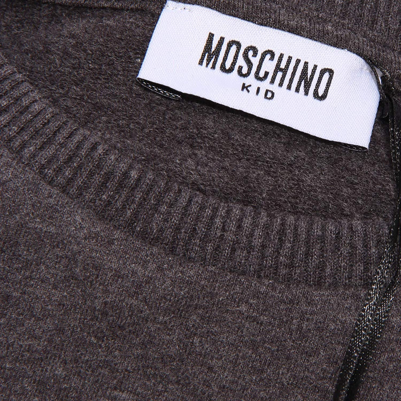 Moschino 4560Z Vestito in Felpa Bimba Girl Kid//Teen Sweatshirt Dress Grey