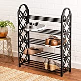b928eb22561 Amazon.com  Whitmor Over The Non Slip Door Shoe Rack-36 Fold Up ...