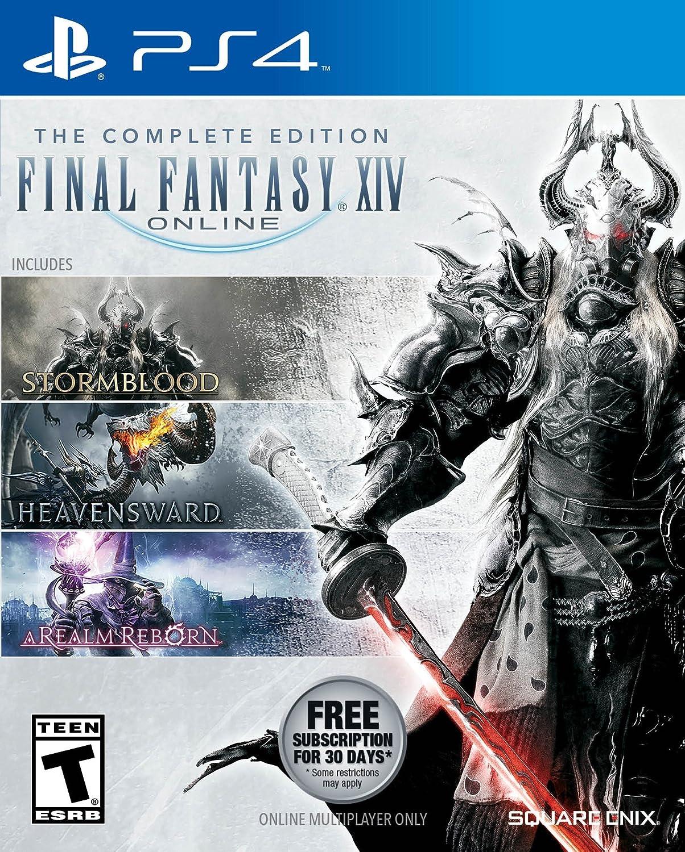 Amazon Com Final Fantasy Xiv Stormblood Complete Edition Playstation 4 Video Games