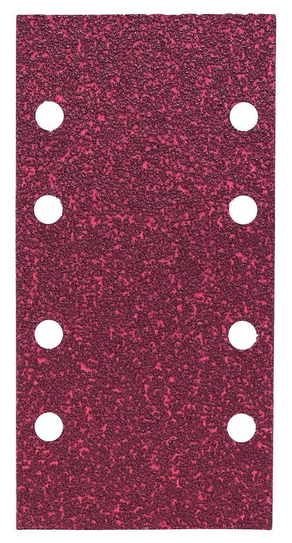 Bosch 2 609 256 A84 - Juego de hojas de lija de 10 piezas para lijadora orbital 2609256A84