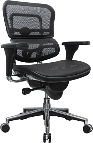 Eurotech Seating Ergohuman Mid Back Mesh Swivel Chair
