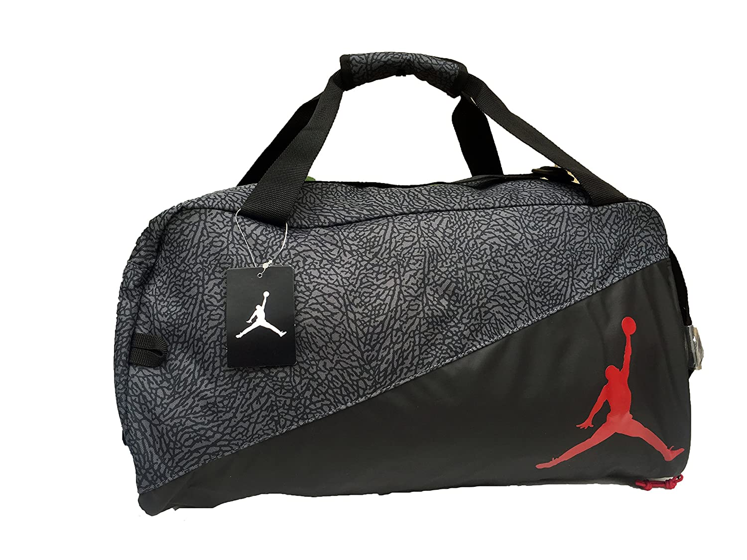 fd206e2dd86529 Amazon.com  Nike Jordan Jumpman Sports Elemental Duffel Bag  Sports    Outdoors