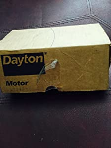 "Dayton 3M560 Electric Motor, 1/70 hp, 1550 RPM, 115V, 3.3"" Diameter"