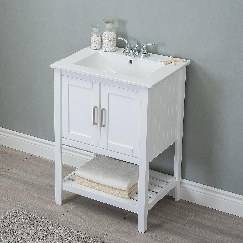 Legion Furniture WLF6020-W Sink Vanity, 24\