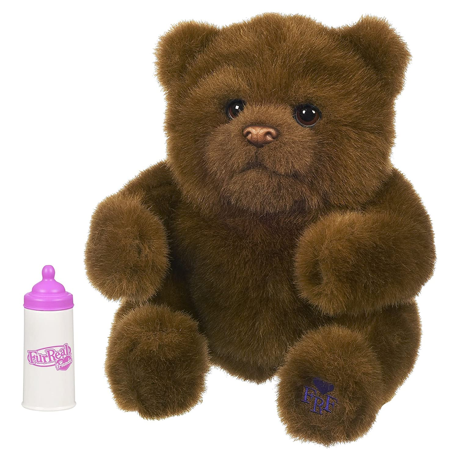 Furreal Baby Luv Cub Brown Bear by Hasbro [並行輸入品] B00393I2AA