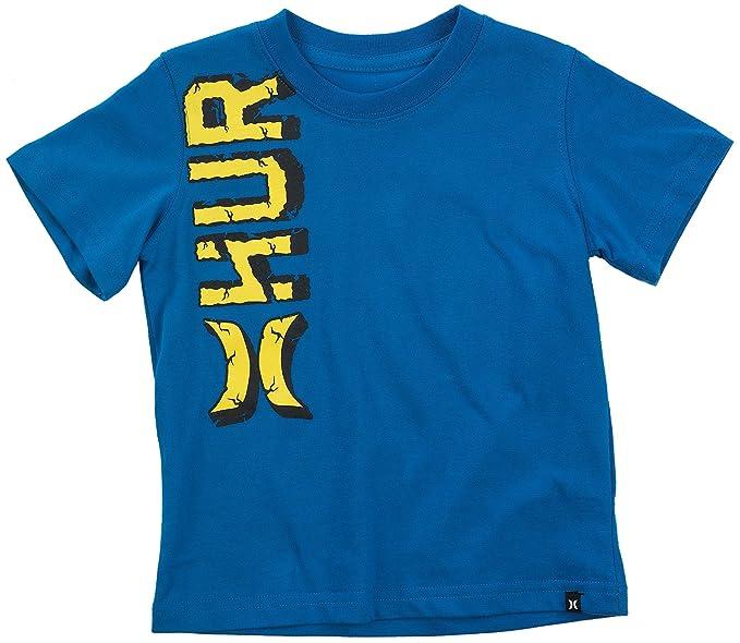 035e9095f Amazon.com: Hurley Baby Boys Rock Logo Tee (12-24 Months) Code Blue ...