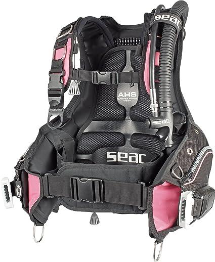 Seacsub - Femme, Color Black/Pink, Talla M: Amazon.es: Deportes y ...