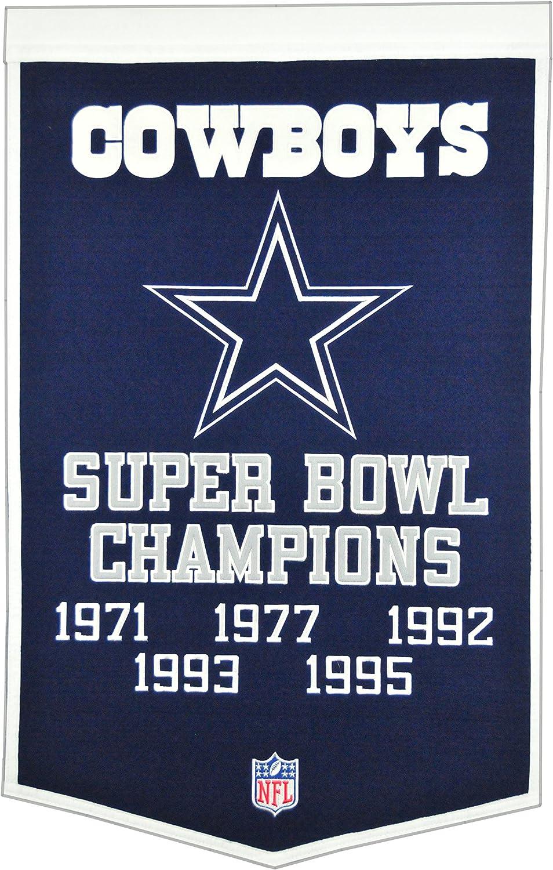 B000B85ZLA Winning Streak NFL Dallas Cowboys Dynasty Banner 91ViDwc2BqJL.SL1500_