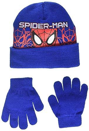 DC Comic - Spiderman Headcut - Ensemble Bonnet et Gant - Garçon  Amazon.fr   Vêtements et accessoires 77c6cad2693