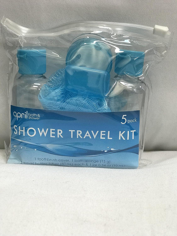 Amazon.com : April Bath and Shower, Shower Travel Kit 5 pack ...